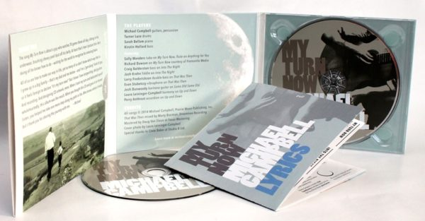 My Turn Now deluxe CD parts
